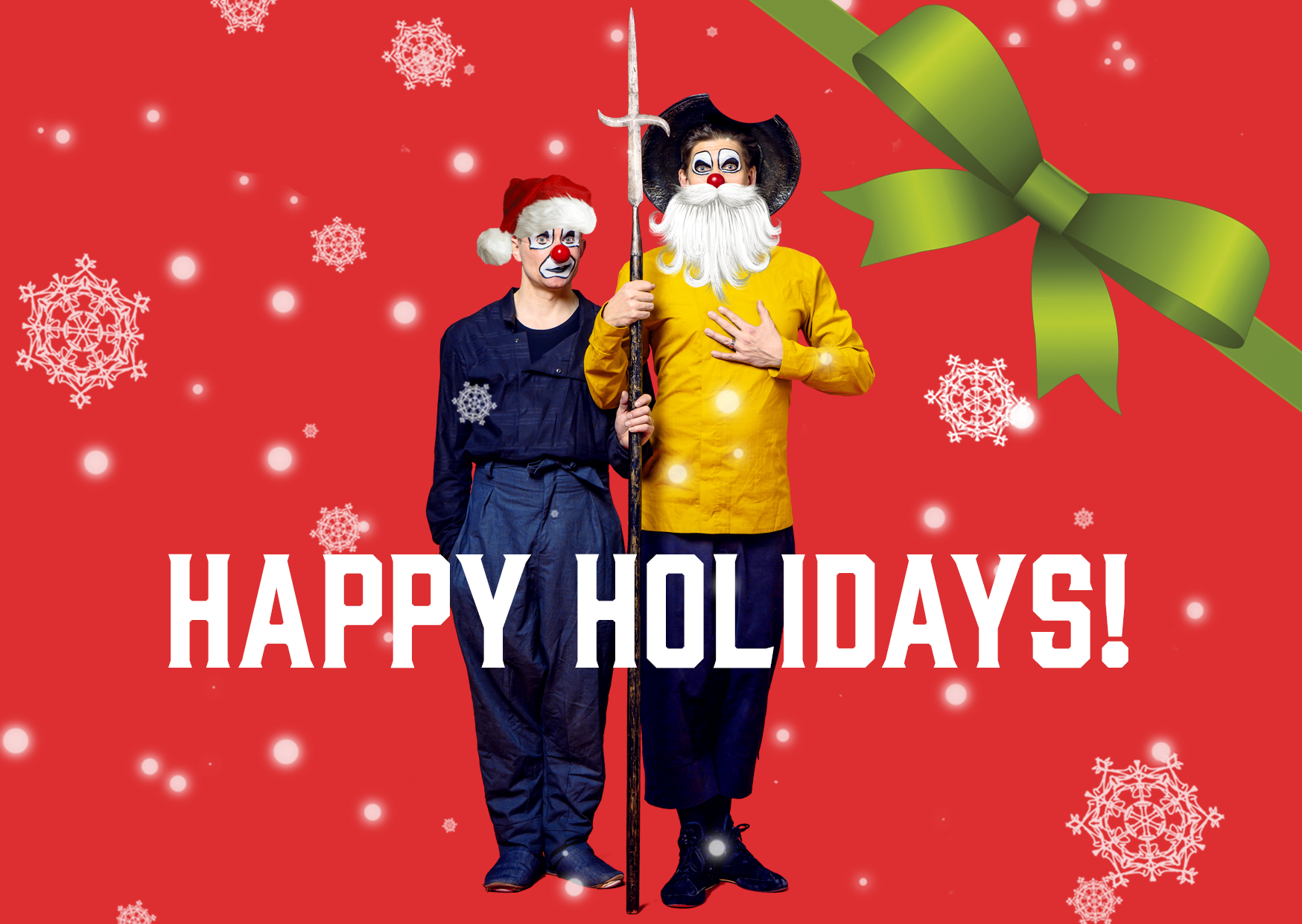 Happy Holidays And Thanks To All >> Happy Holidays Red Nose Company