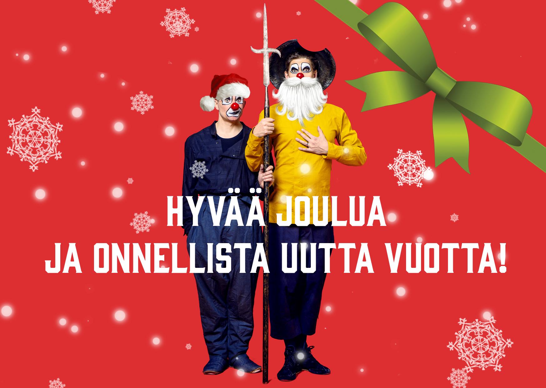 Red Nose Company toivottaa hyvää joulua!